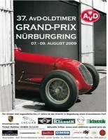 37. AvD Oldtimer Grand Prix, 8. August 2009