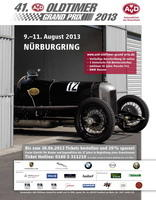 41. AvD Oldtimer Grand Prix 9.-11. August 2013